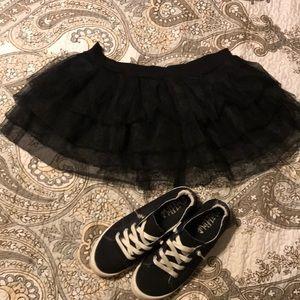 Black tutu. Med/large